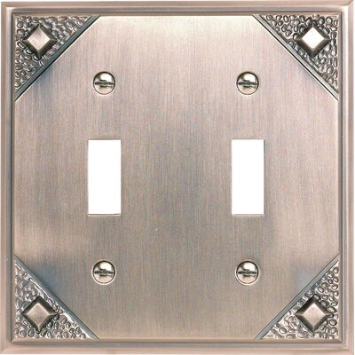 Atlas Homewares Craftsman 2 Toggle Wall Plate 4.5""