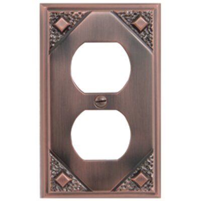 "Atlas Homewares 4.5"" Craftsman Outlet Plate"