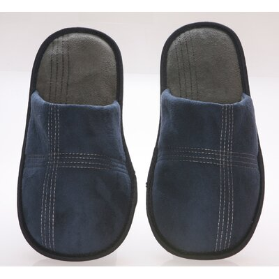 Deluxe Comfort Suede Polar Fleece Men's Slipper
