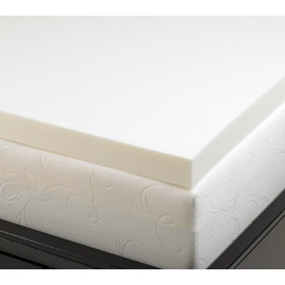 Deluxe Comfort 2&quot; Memory Foam Mattress Topper