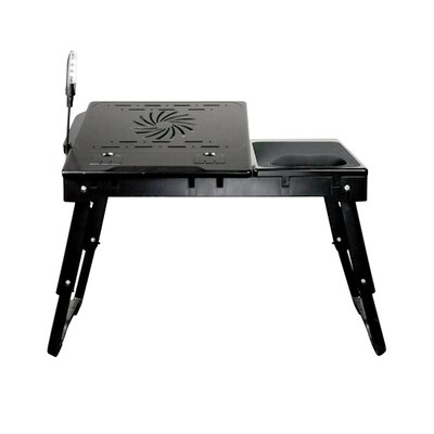 Deluxe Comfort Laptop Table Stand with Internal Cooling Fan