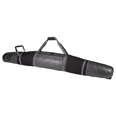 Platinum Armored Wheeling Padded Double Ski Bag - 165cm