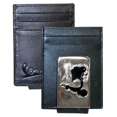 Front Pocket Wallet with Magnetic Money Clip
