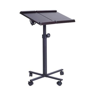 Aosom LLC HomCom Adjustable Deluxe Laptop Cart