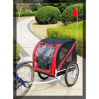 Aosom LLC Pet Bike Trailer