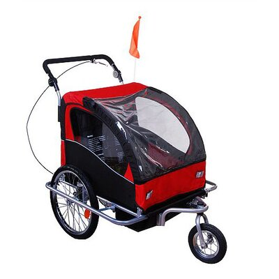 Elite II 2 in 1 Double Baby Bike Trailer