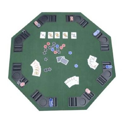 Aosom LLC HomCom Deluxe Foldable Card Game Table Top