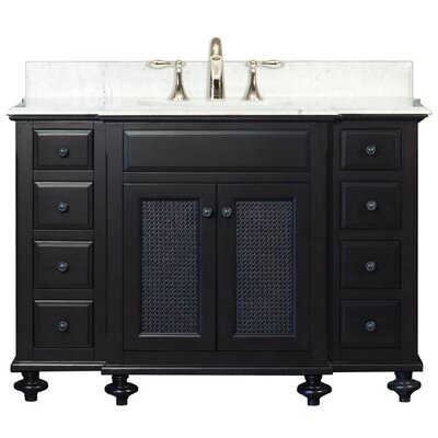 "Water Creation London 48"" Single Standard Bathroom Vanity Set"