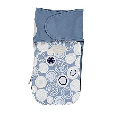 Munchkin Swaddle Angel Terry Circle Print Boy Swaddler
