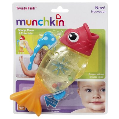 Munchkin Twisty Fish™ Bath Toy