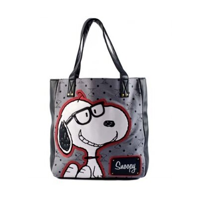 Loungefly Peanuts Preppy Snoopy Tote