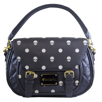 Skull and Dots Cross Body Bag