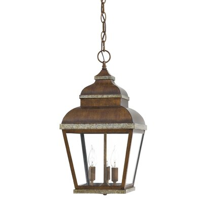 Great Outdoors by Minka Mossoro 3 Light Outdoor Hanging Lantern