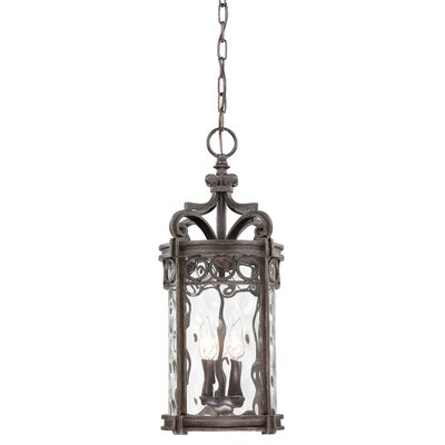 Great Outdoors by Minka Regal Bay 3 Light Indoor/Outdoor Chain Hanging Lantern