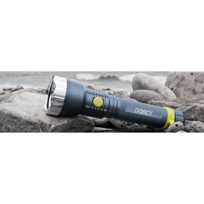 Dorcy Metal Gear XLM Water Resistant LED Flashlight