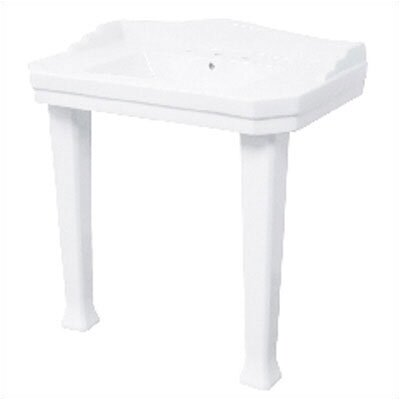 Series 1900 Vitreous China Console Bathroom Sink - F-1900-8