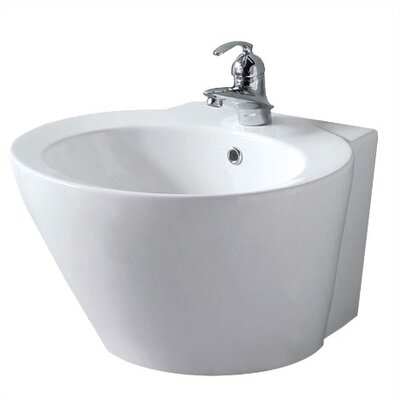 Luzern Wall Mounted Bathroom Sink - 08-0010-W