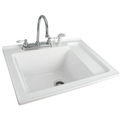 Foremost Berkshire Laundry Sink with Shelf