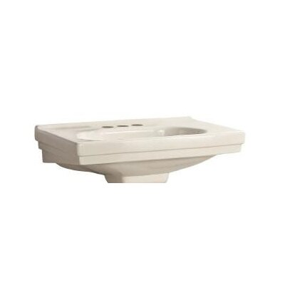 Structure Pedestal Basin Bathroom Sink (Basin Only) - F-1950 / F-1950-S