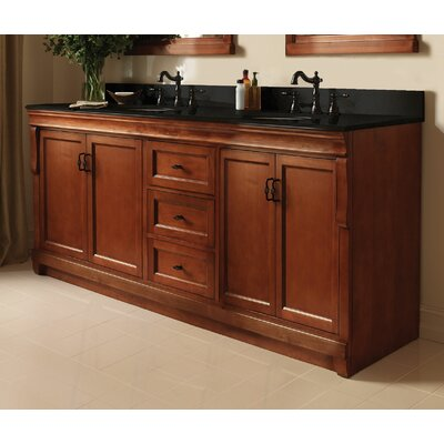 Foremost naples 60 double bathroom vanity reviews wayfair for Bathroom cabinets naples fl