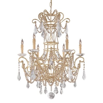 Metropolitan by Minka Metropolitan 6 Light Chandelier