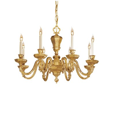 Vintage 8 Light Chandelier