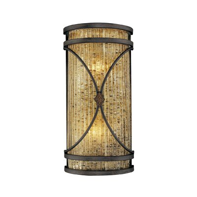 Metropolitan by Minka Monte Titano 2 Light Wall Sconce