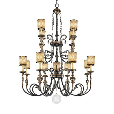 Metropolitan by Minka Terraza Villa 13 Light Chandelier