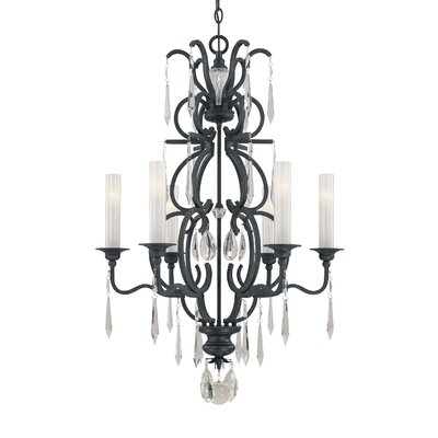Metropolitan by Minka Castellina 6 Light Chandelier