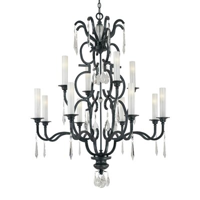Castellina 12 Light Chandelier