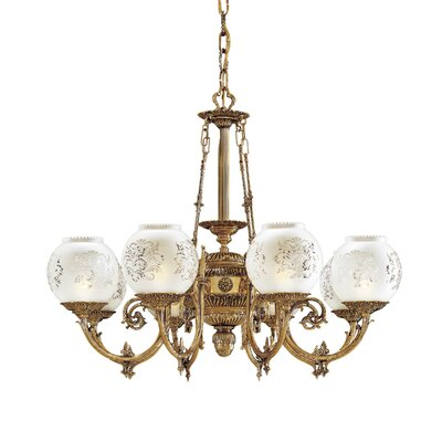 Metropolitan by Minka Vintage 8 Light Chandelier