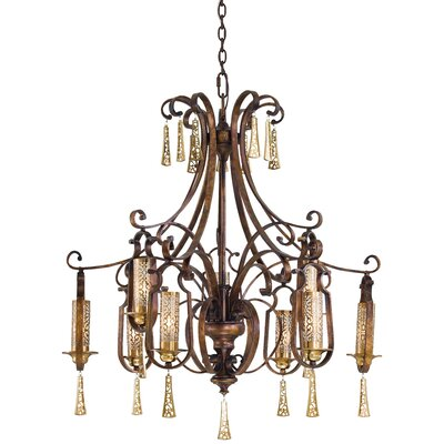 Metropolitan by Minka Vineyard Haven 9 Light Chandelier