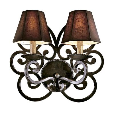Metropolitan by Minka Castile 2 Light Wall Sconce