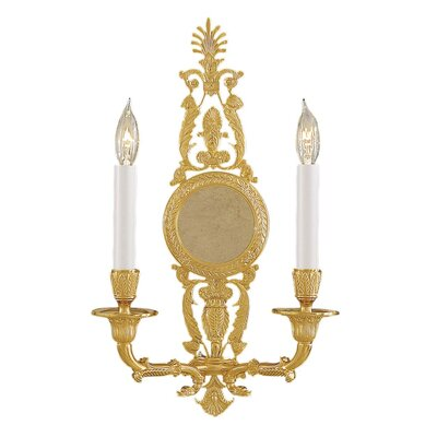 Metropolitan by Minka Vintage 2 Light Wall Sconce