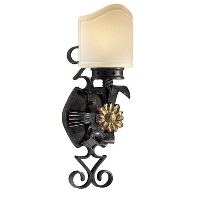 Metropolitan by Minka Montparnasse 1 Light Wall Sconce