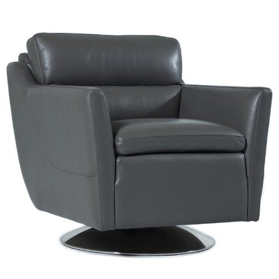 Leo Top Grain Leather Chair