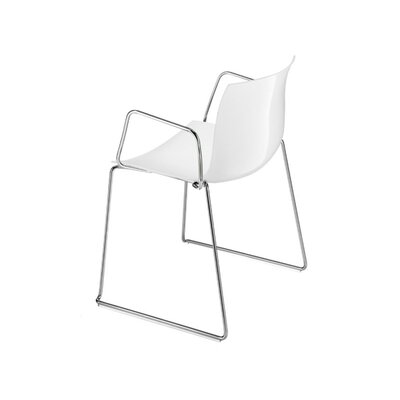 Catifa 46 Single Tone Sled Arm Chair