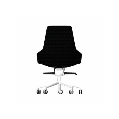 Aston Mid-Back Leather Office Chair