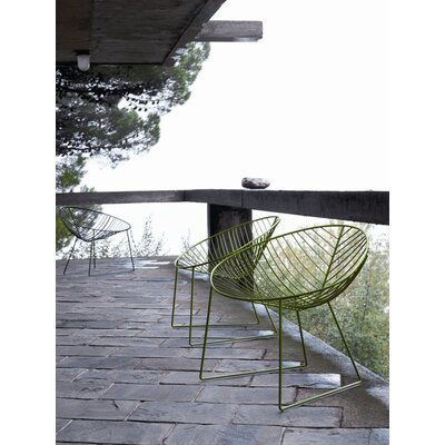 Arper Leaf Sled Base Lounge Chair