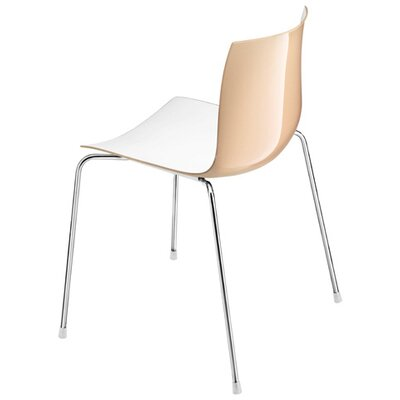 Arper Catifa 46 Polypropylene Two-Tone Chair