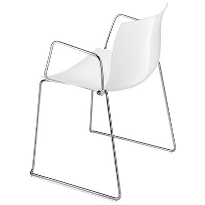 Catifa 53 Polypropylene Armchair with Sled Base