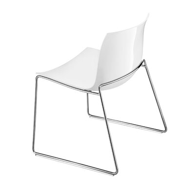 Catifa 53 Polypropylene Lounge Chair with Sled Base