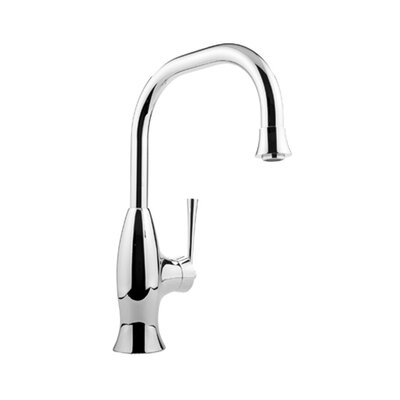 Graff Bollero Single Handle Single Hole Kitchen Faucet with Pull Down Spray