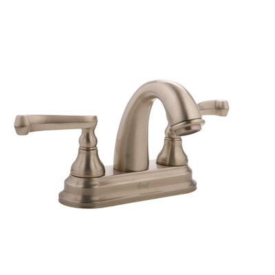 Graff Elegante Centerset Bathroom Faucet with Double Lever Handles