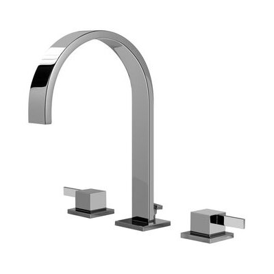 Qubic Tre Double Handle Widespread Bathroom Faucet - G-6210-LM39B-PN