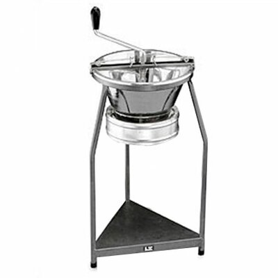 Paderno World Cuisine Pro Tinned Steel 15-Quart Food Mill On Stand