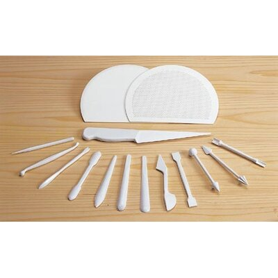Paderno World Cuisine Marzipan Tools (Set of 15)