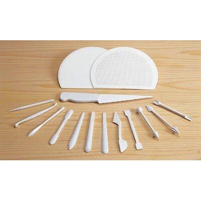 Paderno World Cuisine Marzipan Tools (Set of 15)