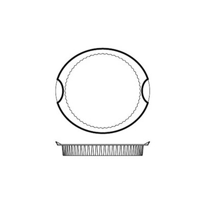 Paderno World Cuisine Non-Stick Silicone Quiche / Tart Mold