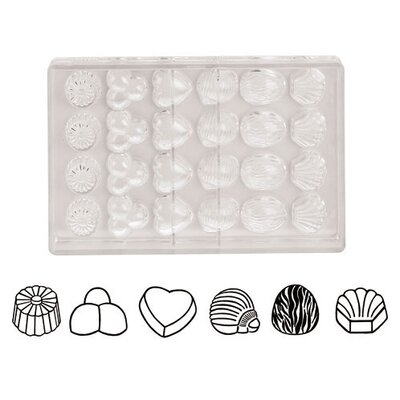 Imprint Chocolate Molds